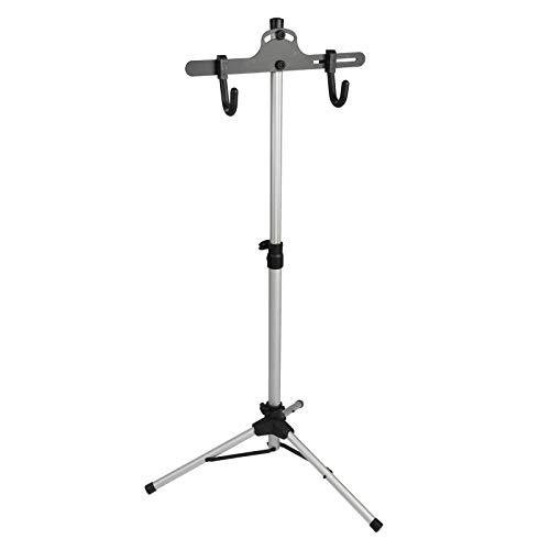 Trintion Bike Stand 70-132cm w 3 Legs Aluminium Bike Repair Stand Rack for Bike Maintenance & Repairs(Black)