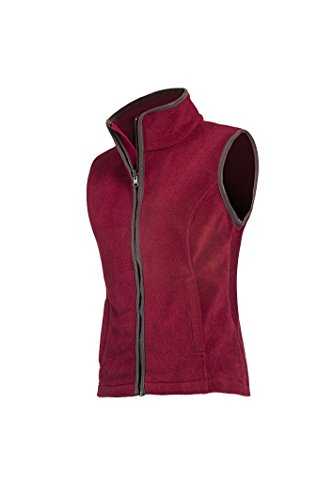 Baleno Dames Sally Fleece Gilet Bordeaux