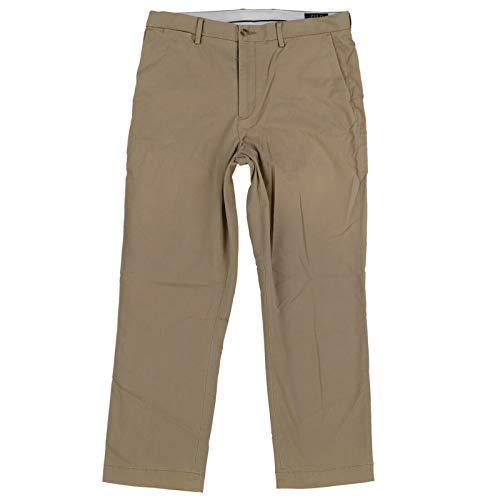 Polo Ralph Lauren Mens Slim Fit Stretch Chino Pants (36x32, Polo Khaki)