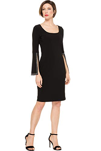 Joseph Ribkoff Dress Style 191012 - Black Size 16UK