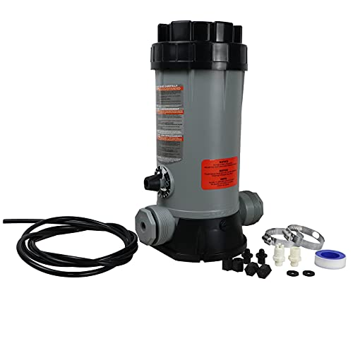 CL220 Off-Line Automatic Chlorinator Feeder Compatible with Hayward Chlorine Feeder for Swimming Pool Ponds Garden,Economy Off-Line Above-Ground Pool Automatic Chlorine Bromine Feeder
