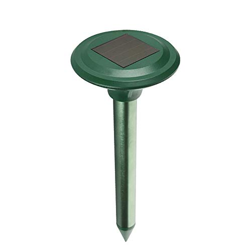 YoLiy Puissance Ultrasonique Animaux Repeller Répulsif Cat à ultrasons Fox Répulsif à Piles Animaux Cat répulsifs Scarer for Les Jardins Garden Farm (Color : Green, Size : M)