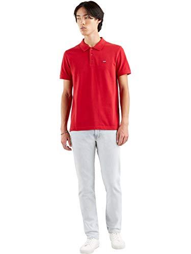 Levi's Herren New Levis Housemark Polo Shirt, Crimson, L