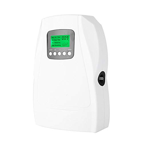 FTVOGUE Máquina Generadora de Ozono Aire Agua Ionizador Purificador Esterilizador Desinfectante de Aire Hortalizas de Fruta Esterilización Ozonizador (EU)
