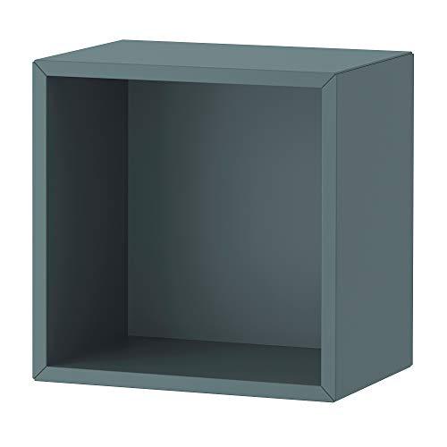Estantería de pared EKET 35x25x35 cm gris-turquesa