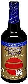 San J Organic Gluten Free Whole Soybean Tamari, 20 Ounce - 6 per case.