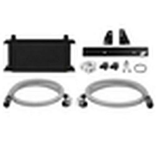 Mimoto MMOC-370Z-09TBK Ölkühler-Kit, thermostatisch, für  370Z /  G37 Coupé, Schwarz
