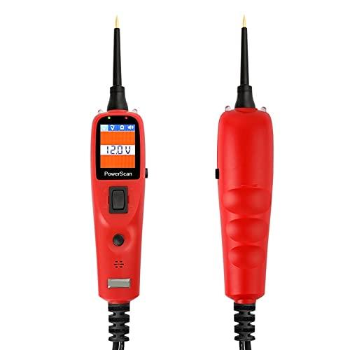 sonda de potencia Probador de circuitos de energía eléctrica auto del coche MS8211 0- 380V Reparación Multímetro automotriz lámpara de coches Herramienta Con LCD Visualización de la pantalla probador