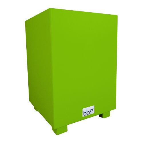 baff Musikmöbel Kindertrommelhocker Cajon mit Sitzhöhe 38 cm in grün
