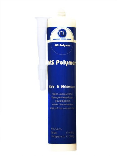 Preisvergleich Produktbild MW Kleb & Dicht Karosseriedichtmasse MS Polymer transparent 290ml