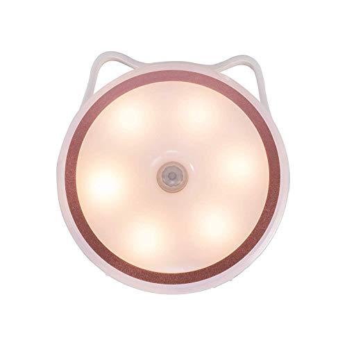 Nakcny LED Baby Night Light Motion Sensor IR Sensor Light?Wardrobe Cupboard Table lamp Lighting for washroom, Kitchen, Bedside lamp, Wardrobe Gifts?Warm White?