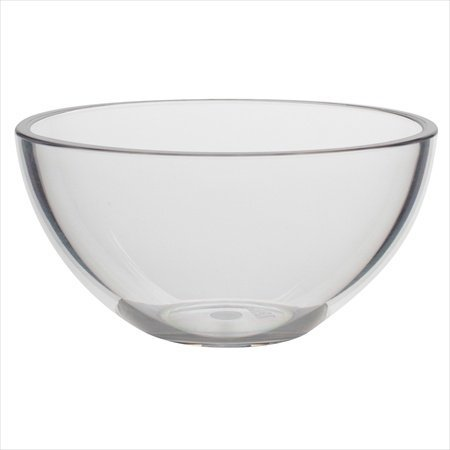Zak Design Clear 0025-0584 Grace 4 In. Condiment Bowl44; Pack Of 6