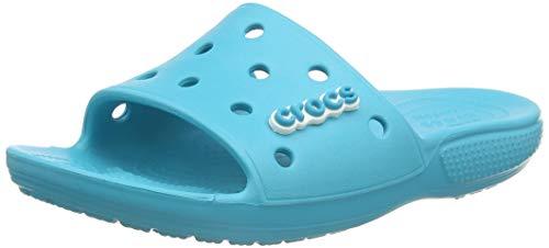 Crocs Classic Slide Wasserschuh, Digital Aqua, 23 EU