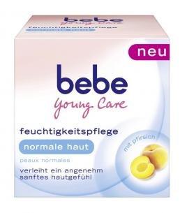 Bebe Young Care Intensivpflege für normale Haut Tagescreme 50ml NEU Versorgt die Haut mit Feuchtigkeit und Pflege mit Pfirsichöl Gesichtscreme