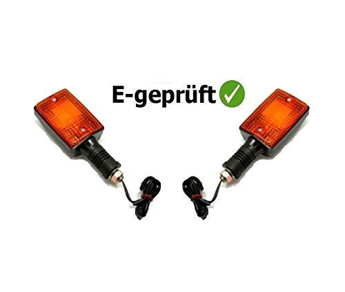 JMP Kunststoff Blinker-Paar hinten für Yamaha DT50 DT80 DT125 RD350 XT350 XT550 XT600