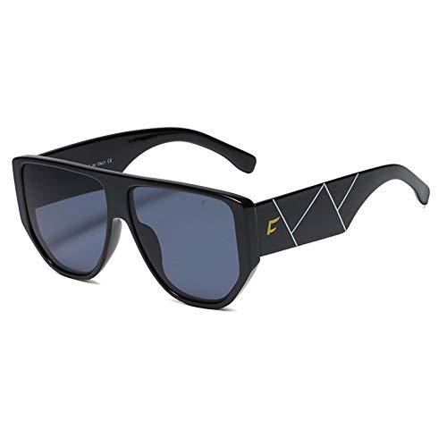 WOJUEF Übergroßen Sonnenbrille Frauen Gradienten Retro Gläser Beschichtete Linsen Mode Sonne Glas Spiegel Uv400