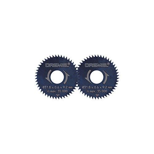 Dremel 546 - Hoja Tronzadora, Accesorio para Herramientas Rotativas, Para Uso Exclusivo con la Minisierra 670 de Dremel, Diámetro de Trabajo 31.8 mm, Profundida de Trabajo 6.35 mm, Color Negro