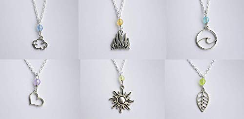 Fate The Winx Saga elements and characters Necklaces