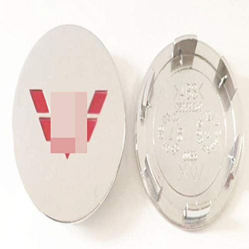 HHYM 4 PCS/Set Rueda Caps Caps Ajuste para LA Rueda DE WULING HUB CUERDO Cubierta Cubierta DE LA Rueda DE CUCHO Logo DE Logo DE Logo DE Accesorios 60mm 326
