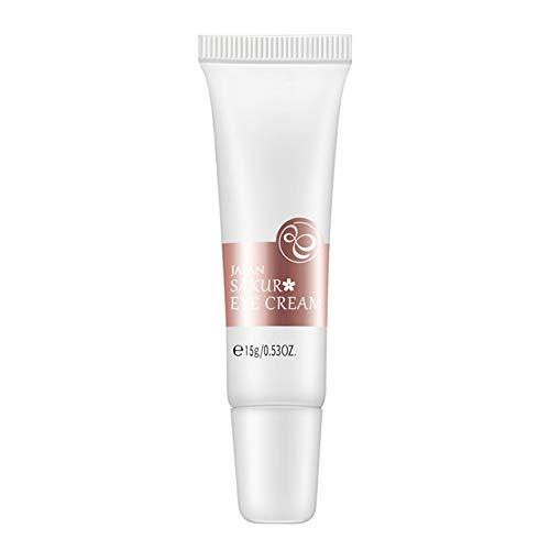 Sakura Serum Eye Cream for Dark Circles, Eye Bags, Fine Lines, Puffiness. Best Anti Aging Firming Eye Care Cream Moisturizer for Wrinkles, Crows feet, Puffy Eyes