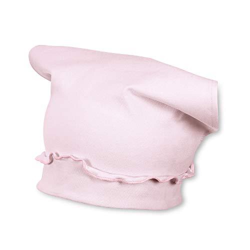 Sterntaler Kopftuch für Mädchen mit Rüschen, Alter: 9-12 Monate, Größe: 47, Rosa