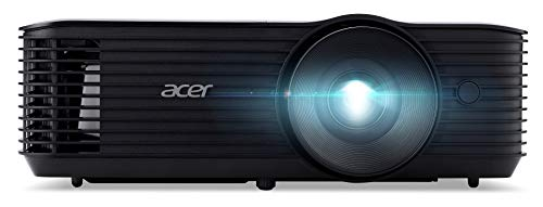 Acer X1227i DLP Beamer (XGA (1.024 x 768 Pixel) 4.000 ANSI Lumen, 20.000:1 Kontrast, 3D, Keystone, 3 Watt Lautsprecher, HDMI (HDCP), Audio Anschluss) Home Cinema / Business