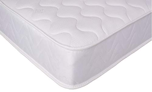 eXtreme Comfort 3ft Single CoolTouch Microquilted Basic Spring Mattress Approx 7' Deep Economy Mattress (3ft Single)
