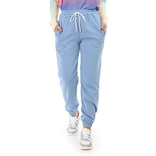 La Modeuse – Un chándal con dos bolsillos azul claro Talla única