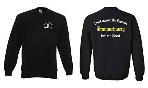 Braunschweig Herren Sweatshirt kniet nieder Ihr Bauern