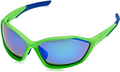 SHIMANO S71X Mate nedón Green/Blue Cristal Lente polarizada Grey/Transparente /-