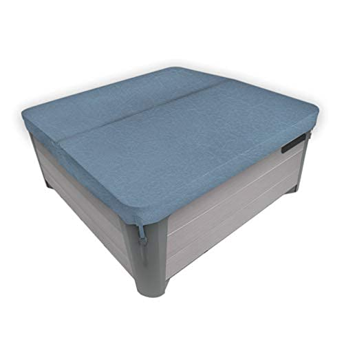 """MySpaCover Hot Tub Cover and Spa Cover Replacement- 4, 5,or 6 Inch Taper, Any Shape Any Size up to 96"""" (Custom, Custom)"""
