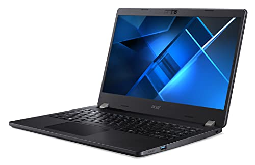 Acer Travelmate Intel i3-11th Gen 14-inch Display 1920 x 1080 Thin and Light Laptop (8GB Ram/1TB HDD/Window 10 Pro/Intel Iris Xe Graphics/Black/1.625 Kgs), TMP214-53