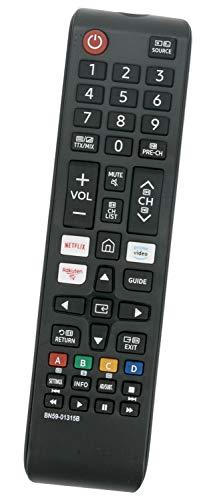 ALLIMITY BN59-01315B Telecomando Sostituisci per Samsung UHD 4K TV UE55RU7102K UE49RU7300K UE43RU7172U UE65RU7372U UE65RU7300W UE65RU7175U UE65RU7170S UE49RU7302K UE43RU7179U UE75RU7170S