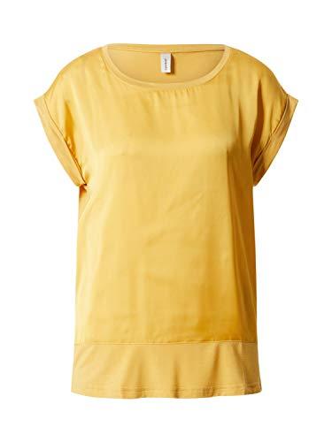 SOYACONCEPT Damen Shirt SC-THILDE 6 T-Shirt gelb M