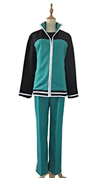 KonoSuba Kono Subarashii Sekai ni Shukufuku wo! Satou Kazuma Cosplay Costume  Male XL  Green,Black