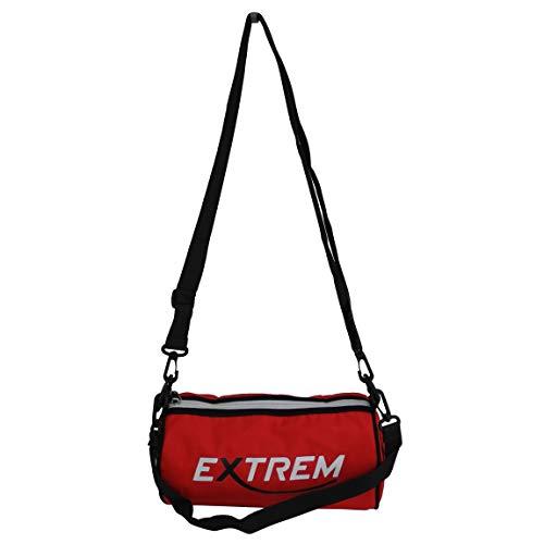 Bag Street - Extreme - kleine Umhängetasche Schultertasche Sporttasche Bowlingbag Freizeit Nylon Crossbag Citytasche (Rot) - präsentiert von ZMOKA®