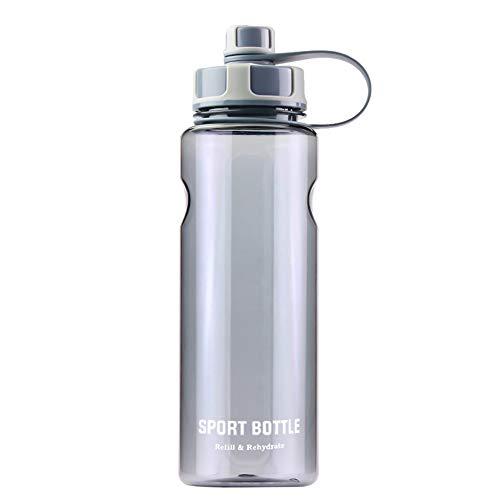 Zeewoo Bottiglia d'Acqua Sportiva 1,5L Borraccia a Prova di perdite, Riutilizzabile plastica Bottiglie Acqua per Scuola, Gimnasio, Sport, Yoga, Alpinismo