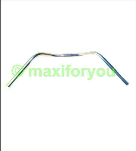 Ergotec fietsstuur stuur staal zilver 600 mm beugelbreedte - 01070118