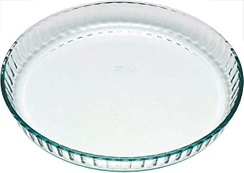 Pyrex Bake & Enjoy Moule a tarte en verre haute rasistance 28 x 28 cm 1,4 l