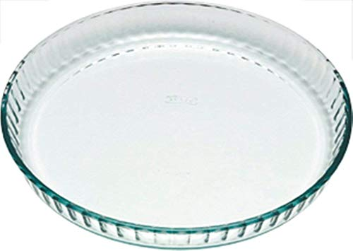 Pyrex Bake & Enjoy Glass Flan dish high resistance28x 28 cm, 1.4 L