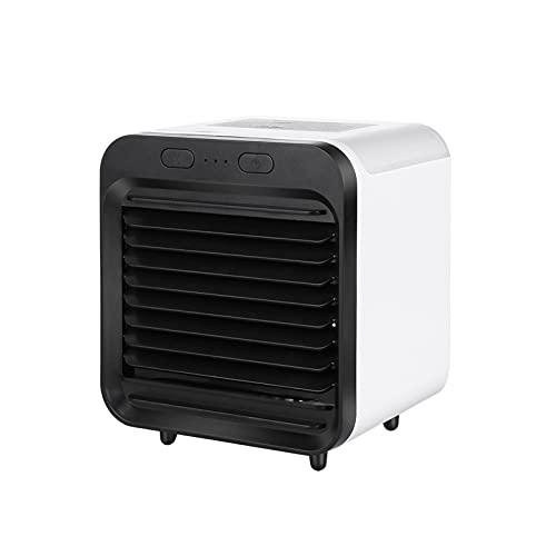 Hansensi - Mini climatizzatore portatile 3 in 1, portatile, portatile, portatile, portatile, portatile, con nebulizzatore, umidificatore e ventilatore, ventilatore USB, per camera da letto, ufficio