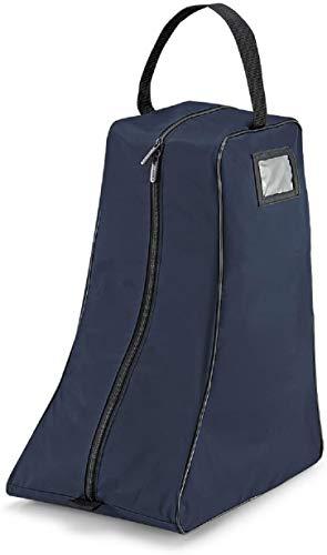 Quadra boot bag in Marineblau/schwarz
