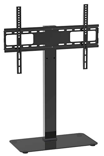 TV Standfuss TV Ständer Schwenkbar für 32-65Zoll LCD LED OLED Plasma Flach & Curved Fernseher bis zu 40KG, Höhenverstellbar & Stabil Max.VESA 600x400