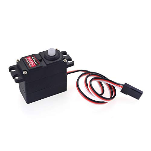 Ktyssp ZD Racing P0200 20g Analog Gear Servo 3.3kg Torque for 1/16 1/14 1/12 RC Car