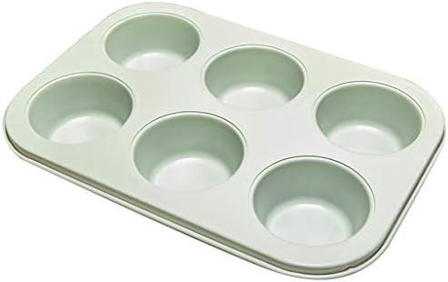 Chun Li Plateau de cuisson, six pièces Moule à gâteau Moule 12 moule en continu antiadhésif de cuisson Plateau oeuf Tart pain four à pâtisserie Ustensiles de cuisson (Size : A)