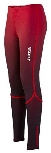 Joma Elite Pantalones Largos, Mujer, Rojo-106, 2XS