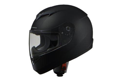 リード工業(LEAD) バイクヘルメット フルフェイス STRAX マットブラック LLサイズ 61-62cm未満 SF-12