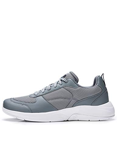 CARE OF by PUMA Low-Top Sneakers, Gris(Grey Grey), 43.5 EU