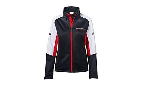 ORIG. PORSCHE Motorsport Softshelljacke, Damen, schwarz/rot/weiß, M 38/40