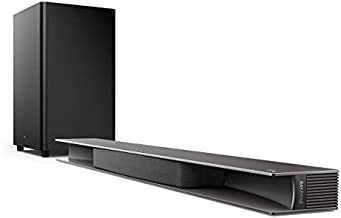 TCL Alto 9+ 3.1 Dolby Atmos Sound Bar with RAY·DANZ Technology, Wireless Subwoofer, WiFi, Bluetooth, Works with Hey Google Plus Chromecast Built-in – Black, TS9030-NA (Renewed)
